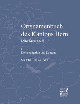 Ortsnamenbuch I